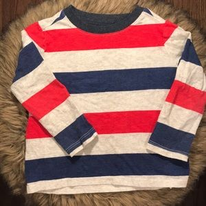 Old Navy Striped Long Sleeved Tee. Toddler Boy 2T